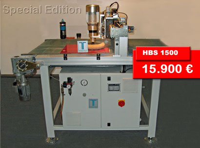 Polishing / Finishing Machine HBS 1500