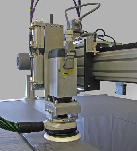 orbital sanding machine